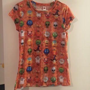 Halloween Emoji Shirt